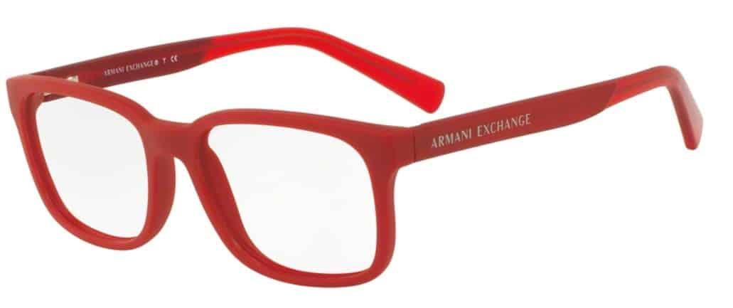 bce89013e Óculos de Grau Armani Exchange AX3029L - Ótica Globo