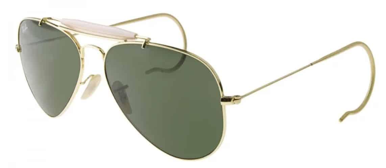 6fe2546894c08 Óculos de Sol Masculino Ray-Ban RB3030 OUTDOORSMAN - Ótica Globo